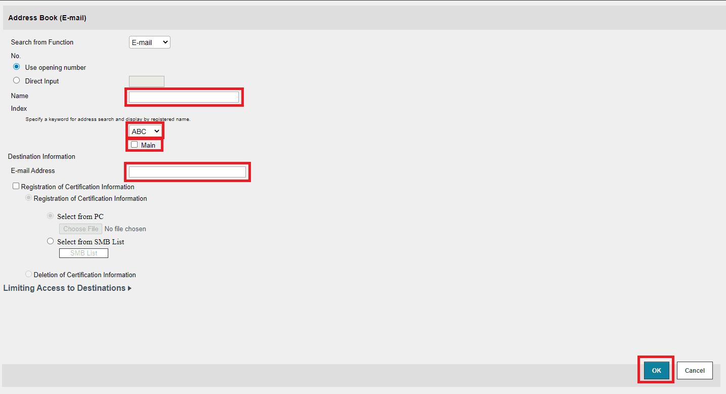 Register E-mail